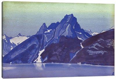 Lake Of The Nagas, Kashmir, 1936 Canvas Art Print