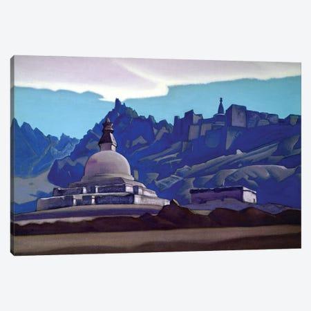 Burial Mound, Ladakh, 1937 Canvas Print #NHR2} by Nicholas Roerich Canvas Print