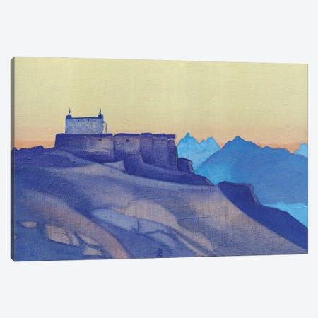 Monastery, Sissu, 1932 Canvas Print #NHR30} by Nicholas Roerich Canvas Wall Art
