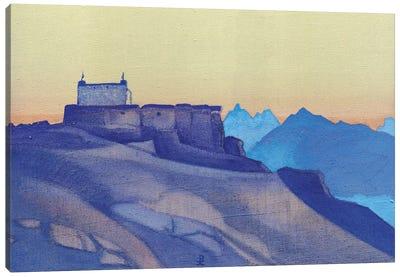 Monastery, Sissu, 1932 Canvas Art Print