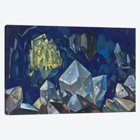 Most Sacred , 1933 Canvas Print #NHR31} by Nicholas Roerich Canvas Wall Art