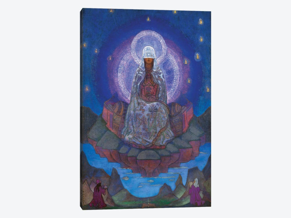 Mother Of The World, 1924 by Nicholas Roerich 1-piece Canvas Art Print
