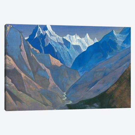 Mount 'M', 1931 Canvas Print #NHR33} by Nicholas Roerich Canvas Artwork