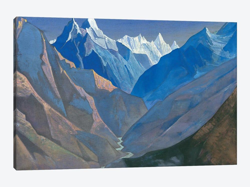 Mount 'M', 1931 by Nicholas Roerich 1-piece Canvas Art