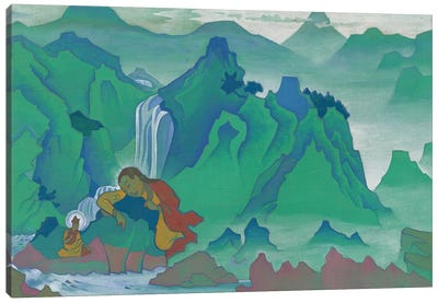 Padma Sambhava, 'Banners Of The East' Series, 1924 Canvas Art Print