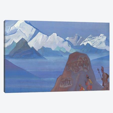 Path To Kailas, 1932 Canvas Print #NHR38} by Nicholas Roerich Canvas Wall Art