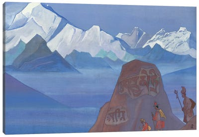 Path To Kailas, 1932 Canvas Art Print