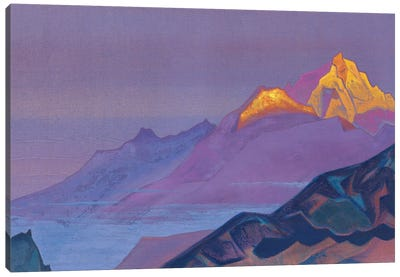 Path To Shambhala, 1933 Canvas Art Print