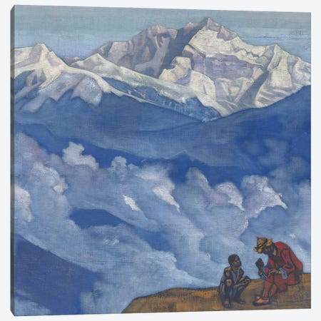 Pearl Of Searching, 'His Country' Series, 1924 Canvas Print #NHR42} by Nicholas Roerich Canvas Print