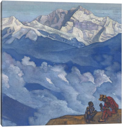 Pearl Of Searching, 'His Country' Series, 1924 Canvas Art Print