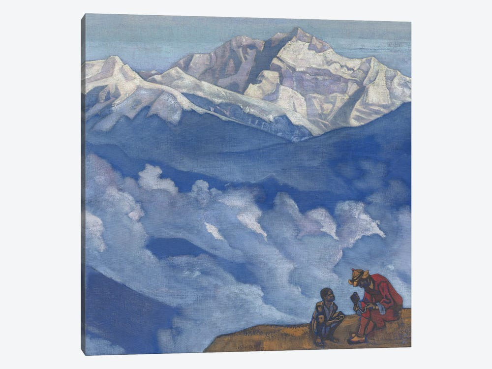 Pearl Of Searching, 'His Country' Series, 1924 by Nicholas Roerich 1-piece Canvas Art