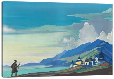 Pilgrim Of The Radiant City, 1933 Canvas Art Print