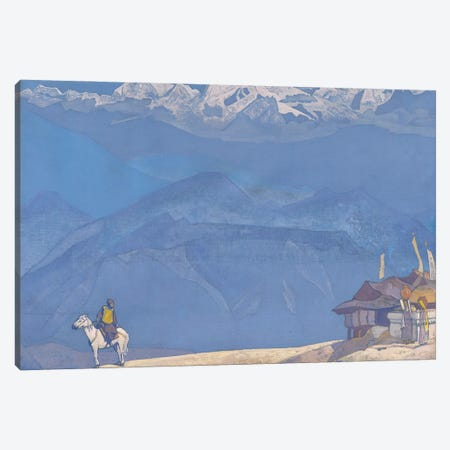 Remember', 'His Country' Series, 1924 Canvas Print #NHR45} by Nicholas Roerich Canvas Artwork