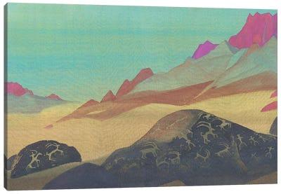 Rocks Of Ladakh, 1932 Canvas Art Print