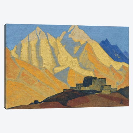 Sacred Himalayas, 1933 Canvas Print #NHR47} by Nicholas Roerich Canvas Artwork