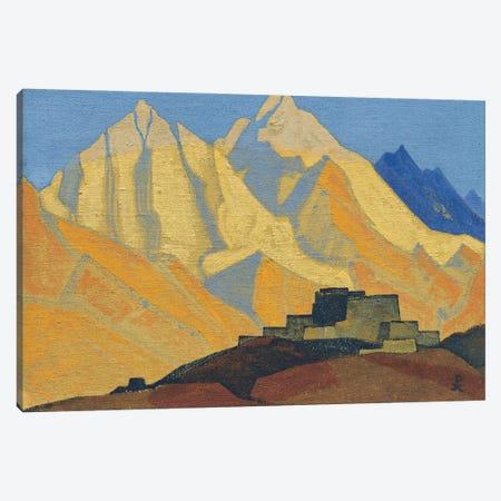 Sacred Himalayas, 1933 Canvas Print #NHR47} by Nicholas Roerich Canvas Artwork