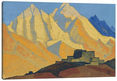 Sacred Himalayas, 1933 Canvas Art Print