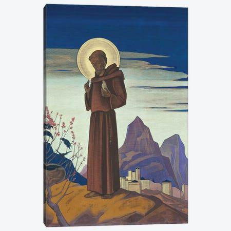 St. Francis, 1932 Canvas Print #NHR50} by Nicholas Roerich Canvas Artwork