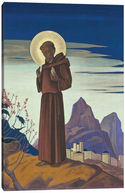 St. Francis, 1932 Canvas Art Print