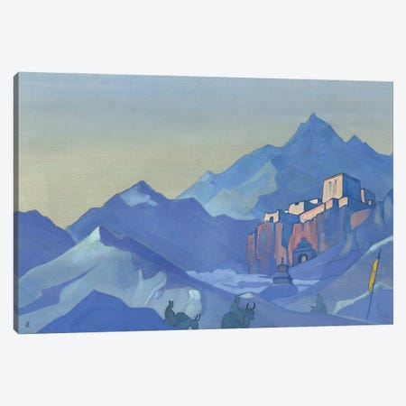 Stronghold Of The Spirit, 1932 Canvas Print #NHR54} by Nicholas Roerich Canvas Print