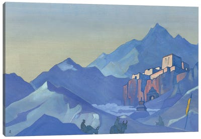 Stronghold Of The Spirit, 1932 Canvas Art Print