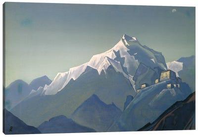 Tibet: A Monastery, 1944 Canvas Art Print