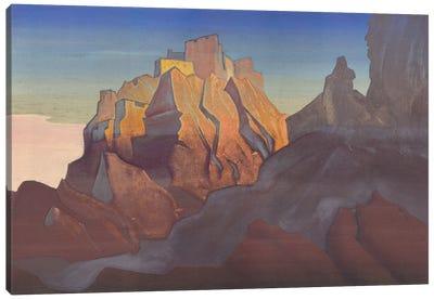 Tibetan Stronghold , 1932 Canvas Art Print