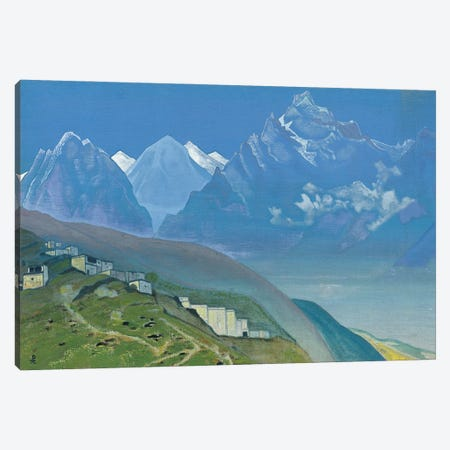 To Kailas, Lahul, 1932 Canvas Print #NHR67} by Nicholas Roerich Canvas Art