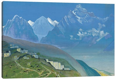 To Kailas, Lahul, 1932 Canvas Art Print