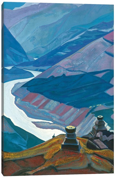 Chandra-Bhaga , 1932 Canvas Art Print