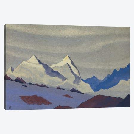Western Himalayas, 1936 Canvas Print #NHR70} by Nicholas Roerich Canvas Artwork