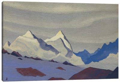 Western Himalayas, 1936 Canvas Art Print