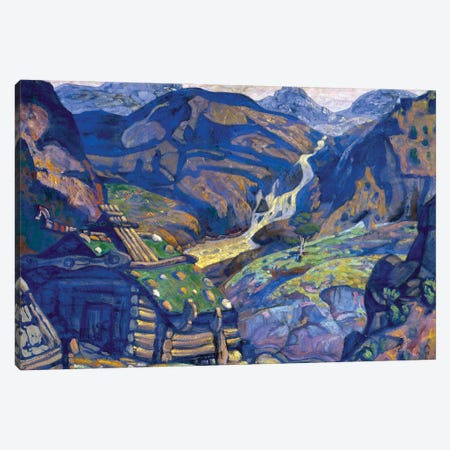 "Decor For ""Peer Gynt"" By Henrik Ibsen, 1912 Canvas Print #NHR8} by Nicholas Roerich Canvas Print"