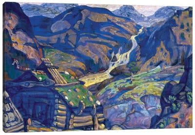 "Decor For ""Peer Gynt"" By Henrik Ibsen, 1912 Canvas Art Print"