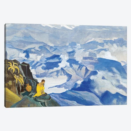 Drops Of Life, 'Sikkim' Series, 1924 Canvas Print #NHR9} by Nicholas Roerich Canvas Print
