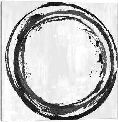 Circle Black I Canvas Art Print