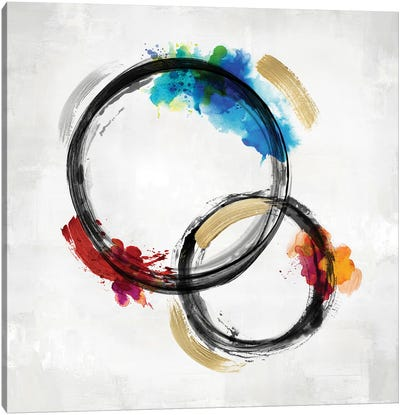 Circle Motion II Canvas Art Print