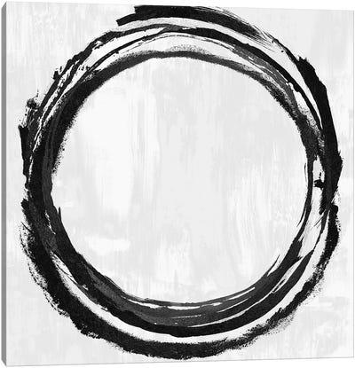 Circle Black II Canvas Art Print