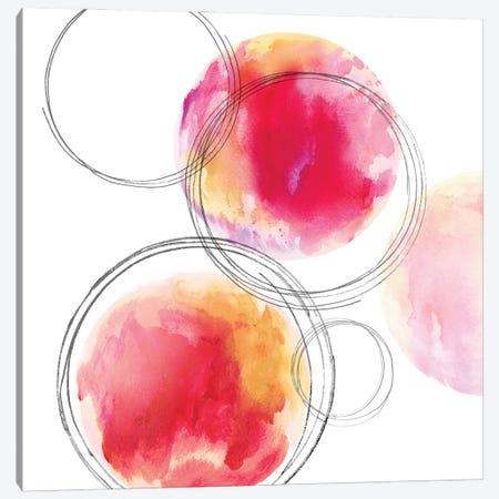 Circular II Canvas Print #NHS30} by Natalie Harris Art Print