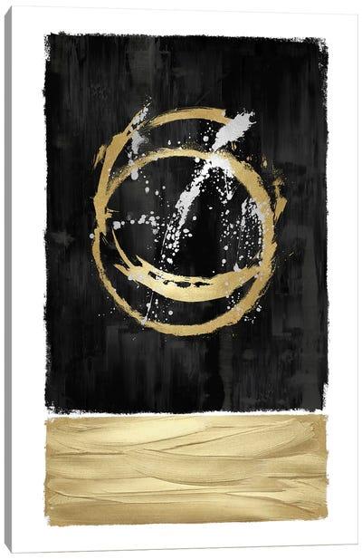 Inward Black I Canvas Art Print