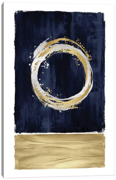 Inward Blue II Canvas Art Print