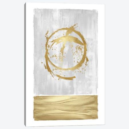 Inward Gold I Canvas Print #NHS37} by Natalie Harris Canvas Wall Art