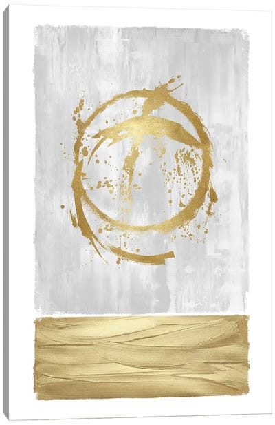 Inward Gold I Canvas Art Print