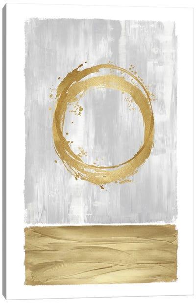 Inward Gold II Canvas Art Print