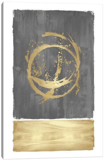 Inward Gray I Canvas Art Print