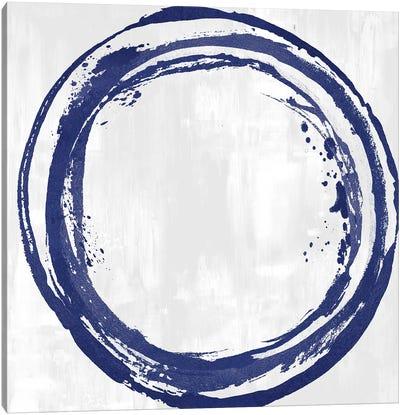 Circle Blue I Canvas Art Print