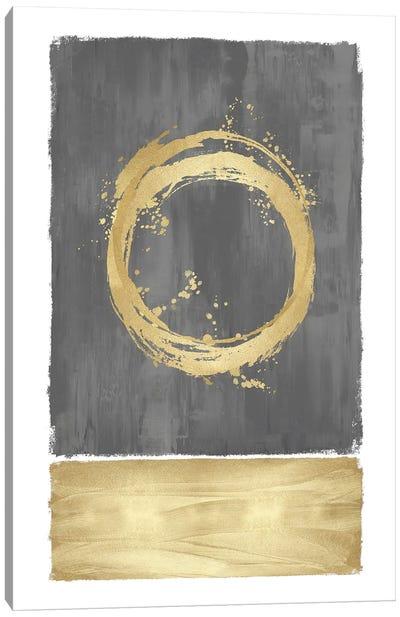 Inward Gray II Canvas Art Print