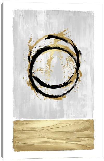 Inward White I Canvas Art Print