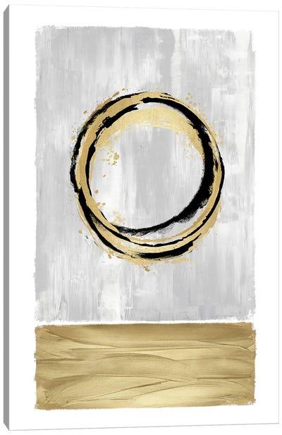 Inward White II Canvas Art Print