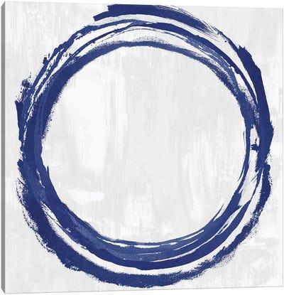 Circle Blue II Canvas Art Print